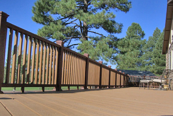 Trex Accents Decking, Color = Saddle