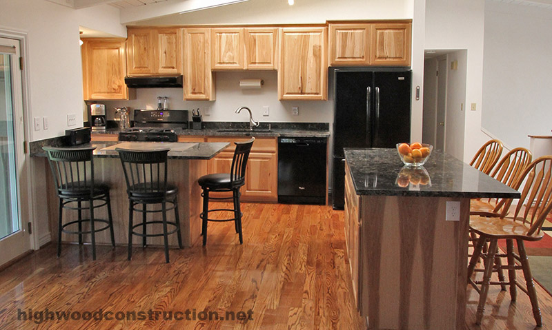 Kitchen remodel by Highwood Construction in Flagstaff Arizona