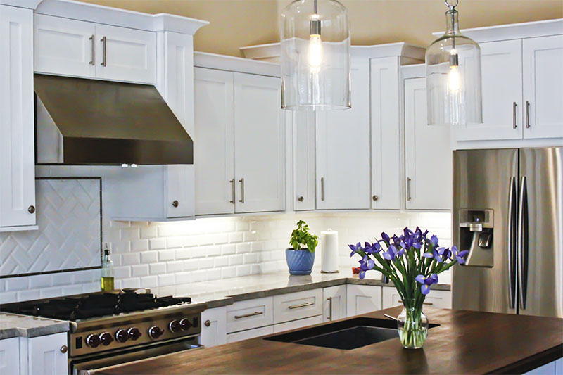 Kitchen cabinets by Sollid Cabinetry